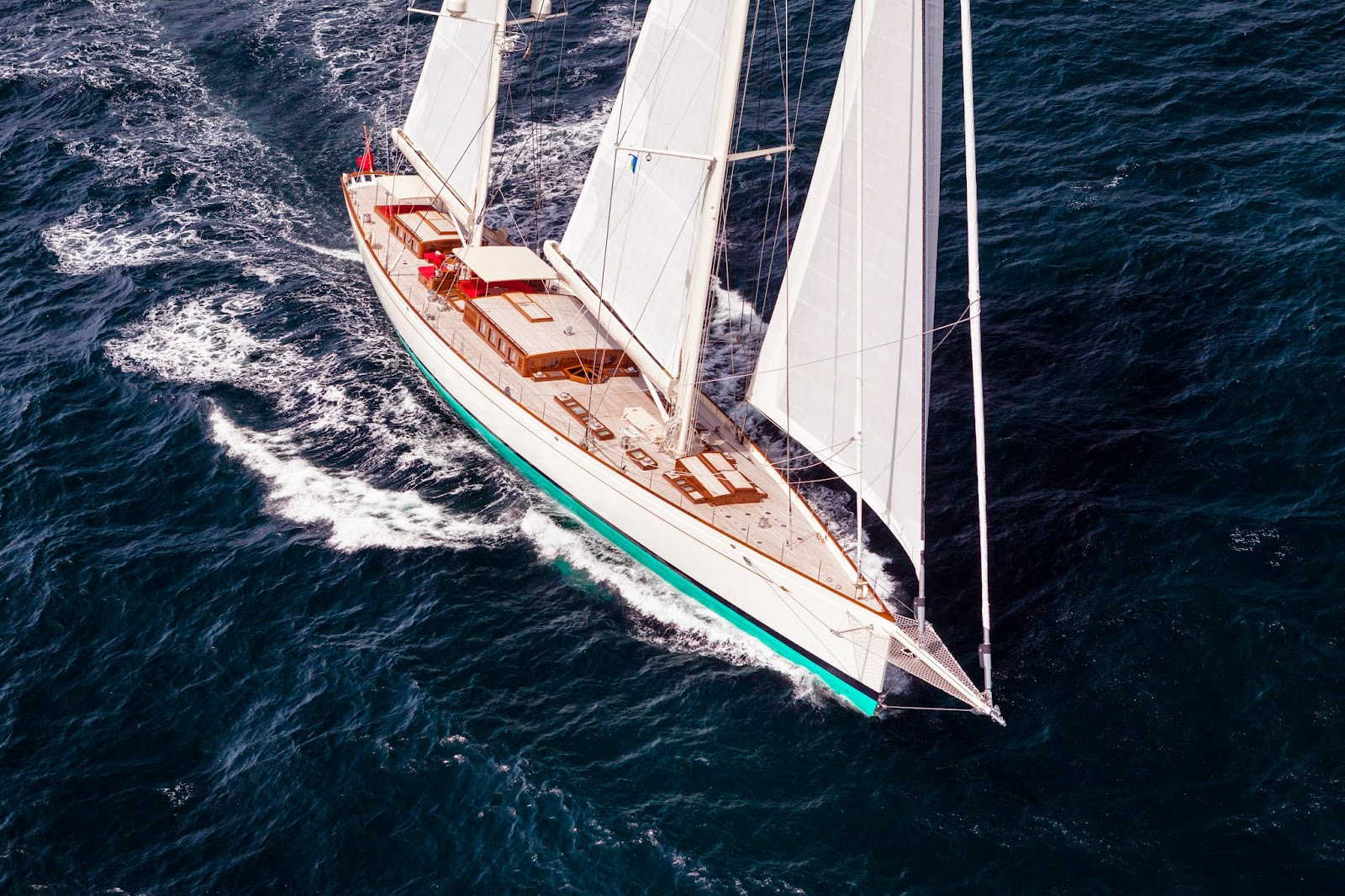 Kamaxitha, 55 meter Spirit of Tradition ketch designed by Dykstra Naval Architects, photo by Cory Silken